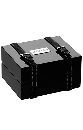 Gagà Milano  Thin Chrono 46mm Steel Bracelet 5097.01BR