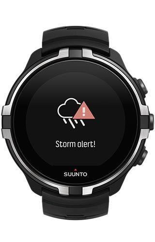 Suunto  Spartan Spartan Sport (Wrist HR) Baro Stealth with Belt SS023402000