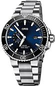 Oris - Diving - Aquis Small Second, Date<br />74377334135-0782405PEB<br />
