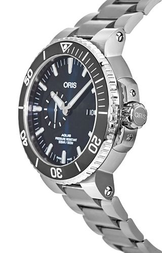 Oris  Diving Aquis Small Second, Date 74377334135-0782405PEB