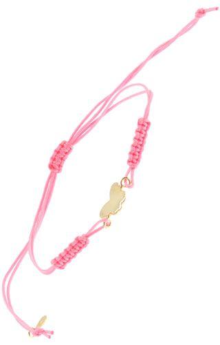 Klepsoo  Colors Butterfly - Yellow Gold Bracelet 168074