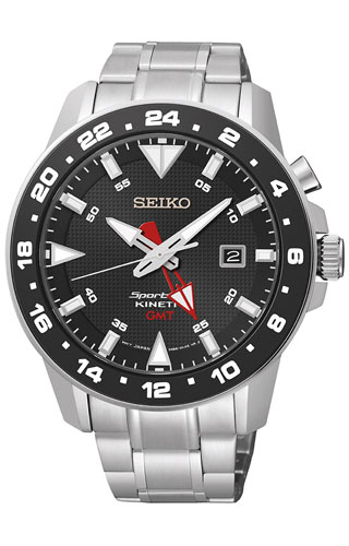Seiko Kinetic GMT SUN015P1
