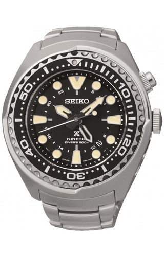 Seiko Kinetic GMT Diver SUN019P1