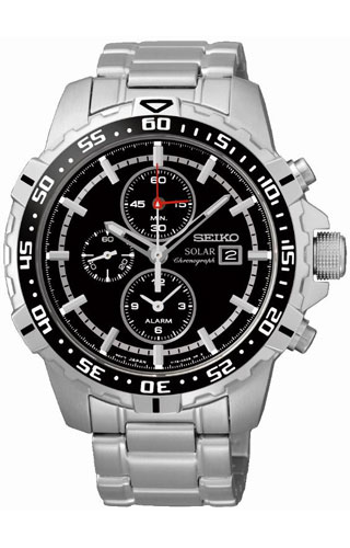 Seiko 1/5 sec. Alarm Chronograph SSC299P1