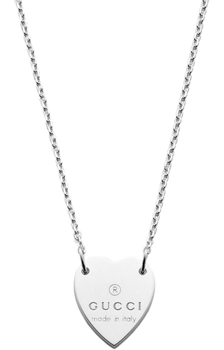 Gucci YBB223512001 Silver Necklace iqNuW