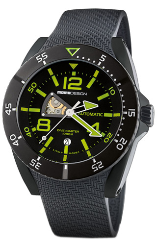 Momo Design Dive Master Dive Master - Automatico MD279BK-02BY-RB