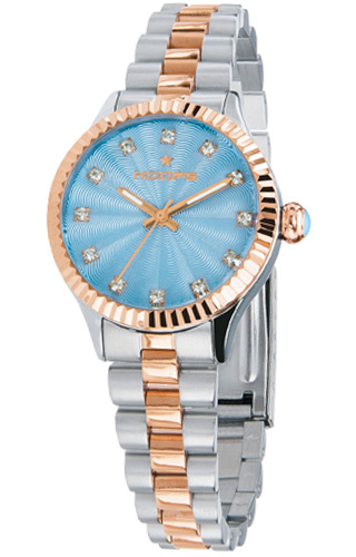 Hoops Luxury Diamonds Silver and Gold 2569LSRG-05