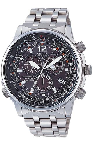 Citizen  Radiocontrollato Crono Pilot Titanium AS4050-51E