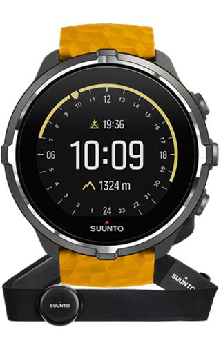 Suunto Spartan Sport (Wrist HR) Baro Amber with Belt SS050002000