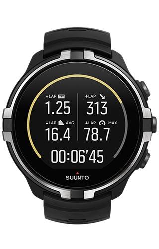 Suunto Spartan Sport (Wrist HR) Baro Stealth - SS023404000
