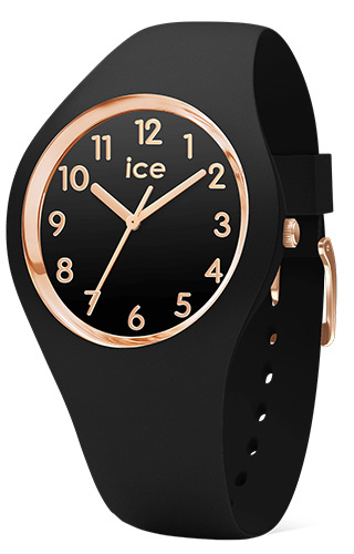 Ice Watch  Ice-Glam Black Rose Gold Numbers - Small 014760