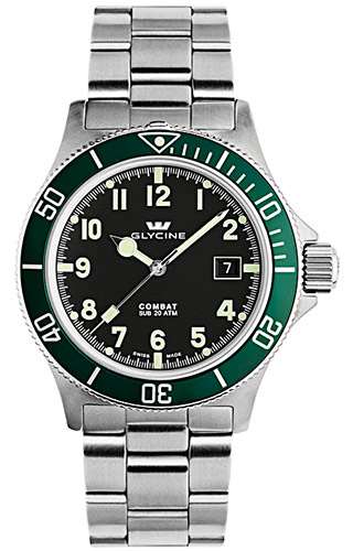 Glycine Combat SUB Automatic 3863.19AT2V-MB