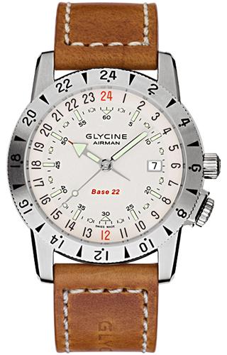 Glycine Airman Base 22 Purist Version 3887.11/66-LB7BH