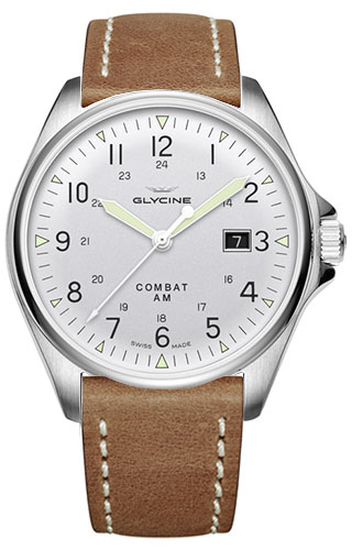 Glycine Combat 6 Vintage Automatic 43 mm 3890.141AT-LB7BH