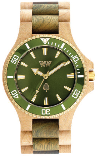 WeWood Date MB - Beige Army Green 70362236
