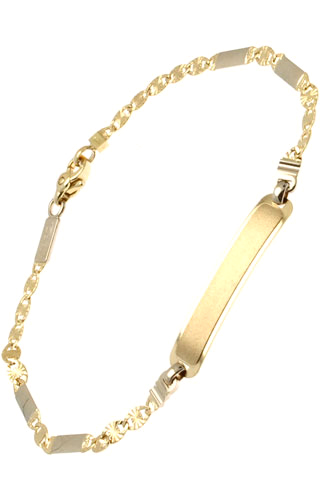Klepsoo ID - Yellow Gold Bracelet 172775