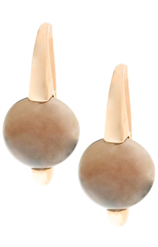 Klepsoo Dove-Grey - Rose Gold Earrings 178142-EAR