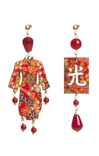 Lebole Gioielli Kimono Seta KS/P/RUBINO
