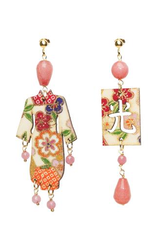 Lebole Gioielli  Kimono Kimono Seta KS/P/ROSA.SFACCE