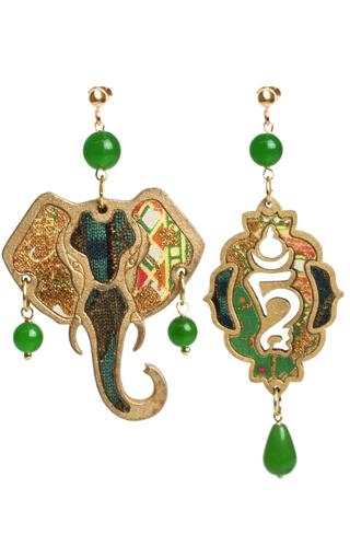 Lebole Gioielli Elefante EL/VERDE