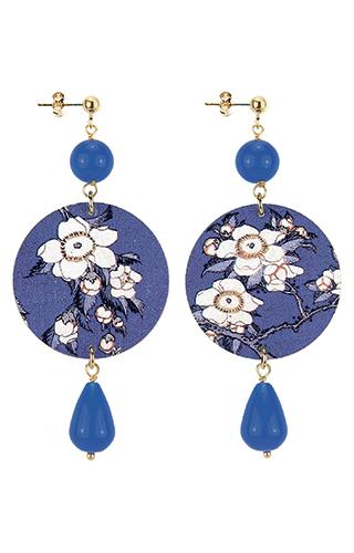 Lebole Gioielli Fiore Blu D/OR.03/BLU