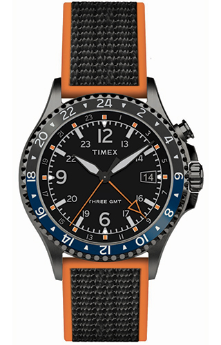 Timex Allied Three GMT TW2R70600